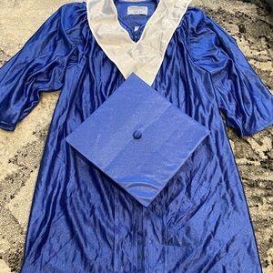 Child's graduation cap & gown